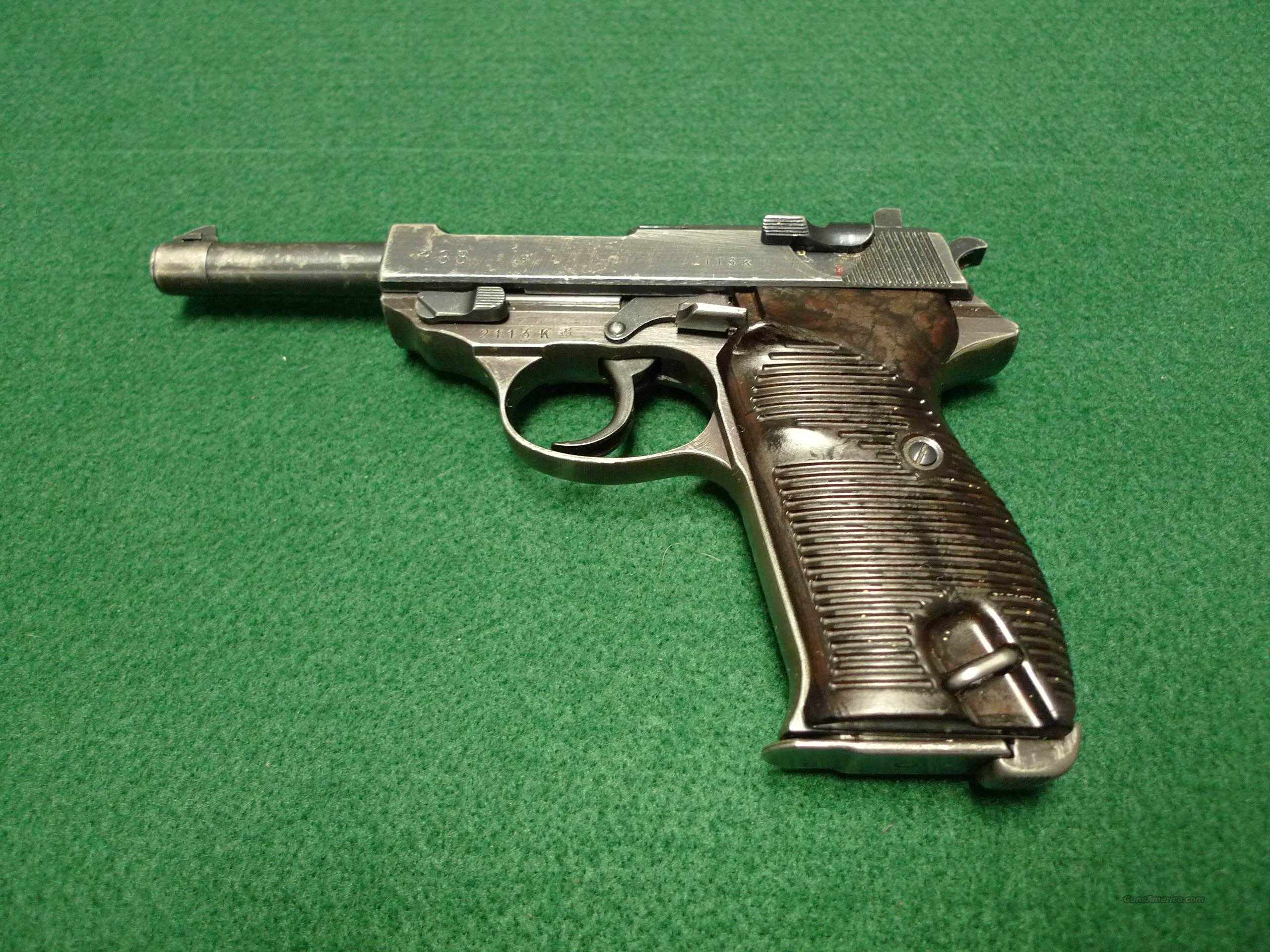 WALTHER P38 NAZI WWII AC43 1943 - GI BRING-BACK  Guns > Pistols > Walther Pistols > Pre-1945 > P-38