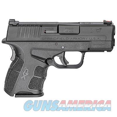 "Springfield Armory XDS .45 ACP MOD.2 3.3"" Black Fiber Optic Sight w/ 2 Magazines XDSG93345B  Guns > Pistols > Springfield Armory Pistols > XD-S"