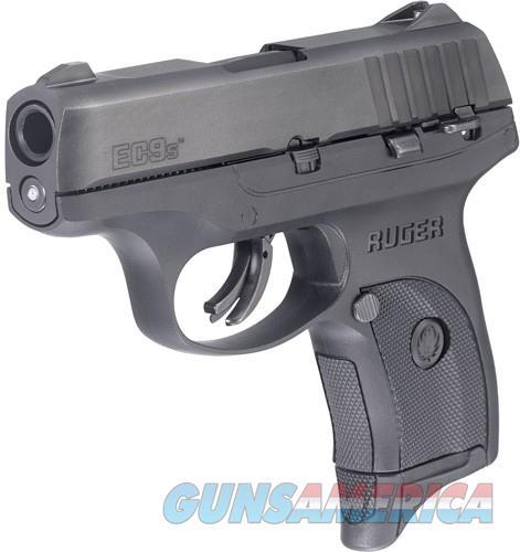 RUGER EC9s 9MM LUGER AS 7-SHOT BLACK SLIDE/BLACK SYN FRAME  Guns > Pistols > Ruger Semi-Auto Pistols > EC9