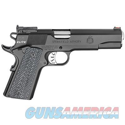 "Springfield Armory 1911 Range Officer Elite .45ACP 5"" (2) 7rd Mags Black-T PI9128E  Guns > Pistols > Springfield Armory Pistols > 1911 Type"
