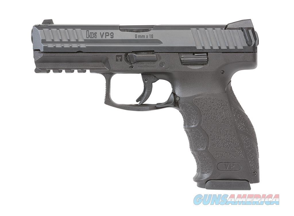 H&K VP9 9MM BLK.  STANDARD MODEL W/2 15RD MAGS  Guns > Pistols > Heckler & Koch Pistols > Polymer Frame