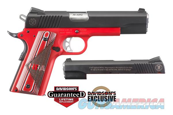 RUG SR1911 NRA 45AP PST 5B 8R  (6746)  Guns > Pistols > Ruger Semi-Auto Pistols > 1911