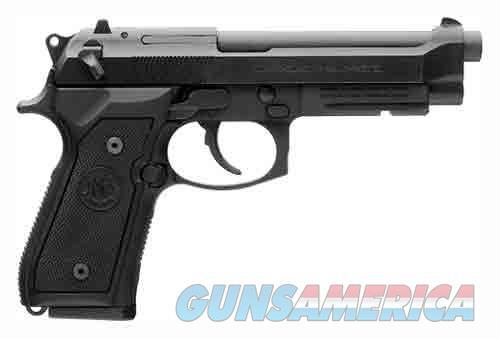 """BERETTA M9A1 9MM 4.9"""" FS 15-SH W/RAIL BLACK MATTE POLY  Guns > Pistols > Beretta Pistols > Model 92 Series"""