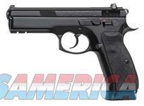 CZ 75 SP-01 9MM LIGHT RAIL TRITIUM SIGHTS 18-SH BLACK  Guns > Pistols > CZ Pistols