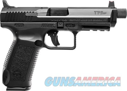 CANIK  TP9 SFT 9MM PISTOL 2-18RD MAGS BLACK POLYMER FRAME THREADED BBL.  Guns > Pistols > Canik USA Pistols