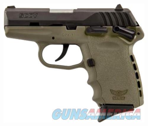 SCCY CPX1-CB PISTOL DAO 9MM 10RD BLACK/FDE MANUAL SAFETY  Guns > Pistols > SCCY Pistols > CPX1