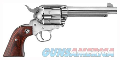 "RUGER VAQUERO .357MAG 5.5"" FS S/S HARDWOOD (MOD. 5108)  Guns > Pistols > Ruger Single Action Revolvers > Cowboy Action"