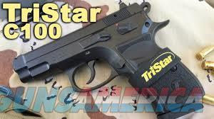 TRISTAR C-100  9MM  BLK   2- 15 RD MAG  Guns > Pistols > Tristar