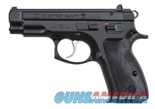 "CZ-USA 91190 CZ 75 Compact 14+1 9mm 3.8""  Guns > Pistols > CZ Pistols"