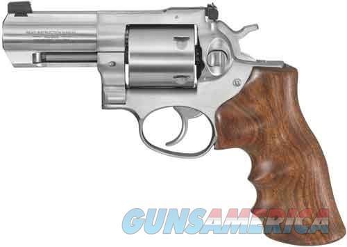 "RUGER GP100 .44SPL 3"" ADJ. STAINLESS WALNUT GRIP  Guns > Pistols > Ruger Double Action Revolver > GP100"