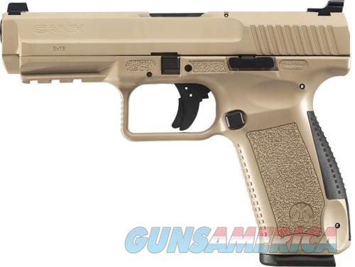 CANIK  TP9SF 9MM PISTOL 2-18RD MAGS DESERT/TAN POLYMER FRAME  Guns > Pistols > Canik USA Pistols