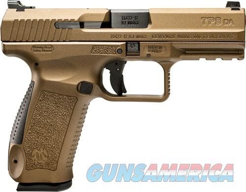 CANIK  TP9 DA 9MM PISTOL 2-18RD MAGS BURNT BRONZE POLYMER FRM  Guns > Pistols > Canik USA Pistols