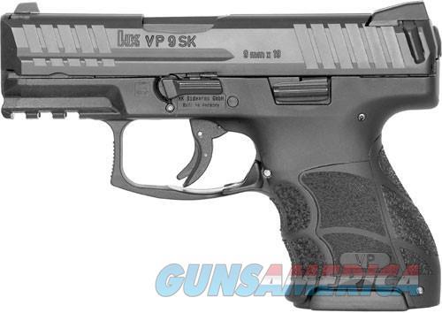 "HK VP9SK STRIKER FIRED 9MM 3.39"" BBL 3-DOT FS 2-10RD BLK  Guns > Pistols > Heckler & Koch Pistols > Polymer Frame"