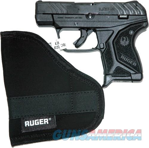 RUGER LCP II .380ACP 6-SHOT FS BLUED BLACK SYNTHETIC * (3750)  Guns > Pistols > Ruger Semi-Auto Pistols > LCP