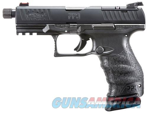 "WALTHER PPQ M2 Q4 TAC 9MM 4.6"" BBL THREADED 1-15 & 1-17 RD  Guns > Pistols > Walther Pistols > Post WWII > P99/PPQ"