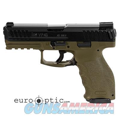 Heckler Koch VP40 .40 S&W OD Standard sights  Guns > Pistols > Heckler & Koch Pistols > Polymer Frame