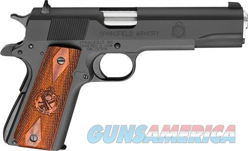 "SPRINGFIELD 1911 .45ACP MIL-SPEC 5"" FS 7-SHOT PARKERIZED WOOD  Guns > Pistols > Springfield Armory Pistols > 1911 Type"