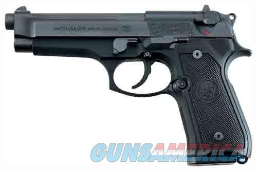 "BERETTA 92FS 9MM 4.9"" FS 3-DOT 15-SHOT BLUED BLACK POLY ITALY  Guns > Pistols > Beretta Pistols > Model 92 Series"
