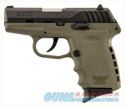 SCCY CPX2-CB PISTOL DAO 9MM 10RD BLACK/FDE W/O SAFETY  Guns > Pistols > SCCY Pistols > CPX2