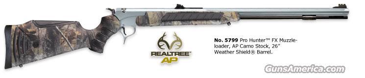 THOMPSON CENTER PRO HUNTER XT .50 CAL STANLESS CAMO  Guns > Rifles > Thompson Center Muzzleloaders > Inline Style