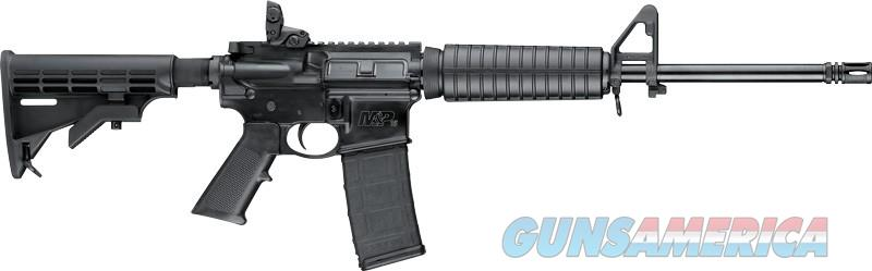S&W M&P15 SPORT II 5.56 RIFLE 30-SHOT 6-POSITION STOCK BLACK  Guns > Rifles > Smith & Wesson Rifles > M&P