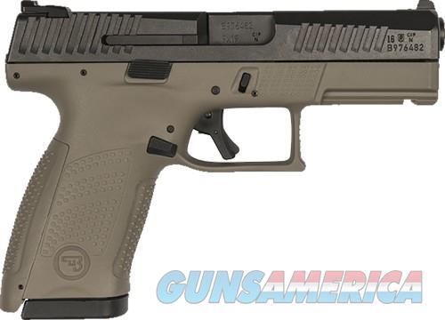 CZ P-10 COMPACT 9MM NS 15-SHOT FDE FRAME WITH BLACK SLIDE  Guns > Pistols > CZ Pistols