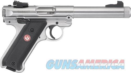 "RUGER MARK IV TARGET .22LR 5.5"" SS THREADED BULL BBL  Guns > Pistols > Ruger Semi-Auto Pistols > Mark I/II/III/IV Family"