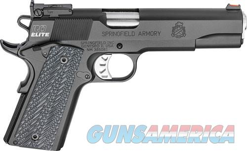 "SPRINGFIELD 1911 RO ELITE TARGET .45ACP 5"" BLACK-T 7-SHOT W/RANGE BAG  Guns > Pistols > Springfield Armory Pistols > 1911 Type"