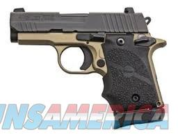 Sig Sauer P938 Desert Bronze 9mm 938-9-DB-AMBI  Guns > Pistols > Sig - Sauer/Sigarms Pistols > P938