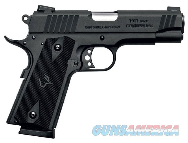 TAURUS 1911 COMMANDER .45  4.25 IN. BLUED  Guns > Pistols > Taurus Pistols > Semi Auto Pistols > Steel Frame