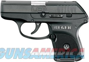 RUGER LCP .380ACP 6-SHOT FS BLUED BLACK SYNTHETIC (3701)  Guns > Pistols > Ruger Semi-Auto Pistols > LCP