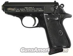 WALTHER PPK/S 380 BLUED PISTOL  Guns > Pistols > Walther Pistols > Post WWII > PPK Series
