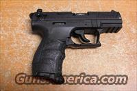 "Walther P22, .22LR, 3.4"" PISTOL BLACK  Guns > Pistols > Walther Pistols > Post WWII > P22"