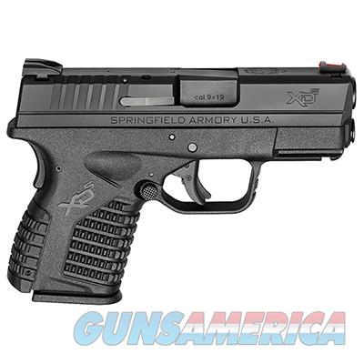 """Springfield Armory XD-S 9MM 3.3"""" BLACK XDS9339BE  Guns > Pistols > Springfield Armory Pistols > XD-S"""
