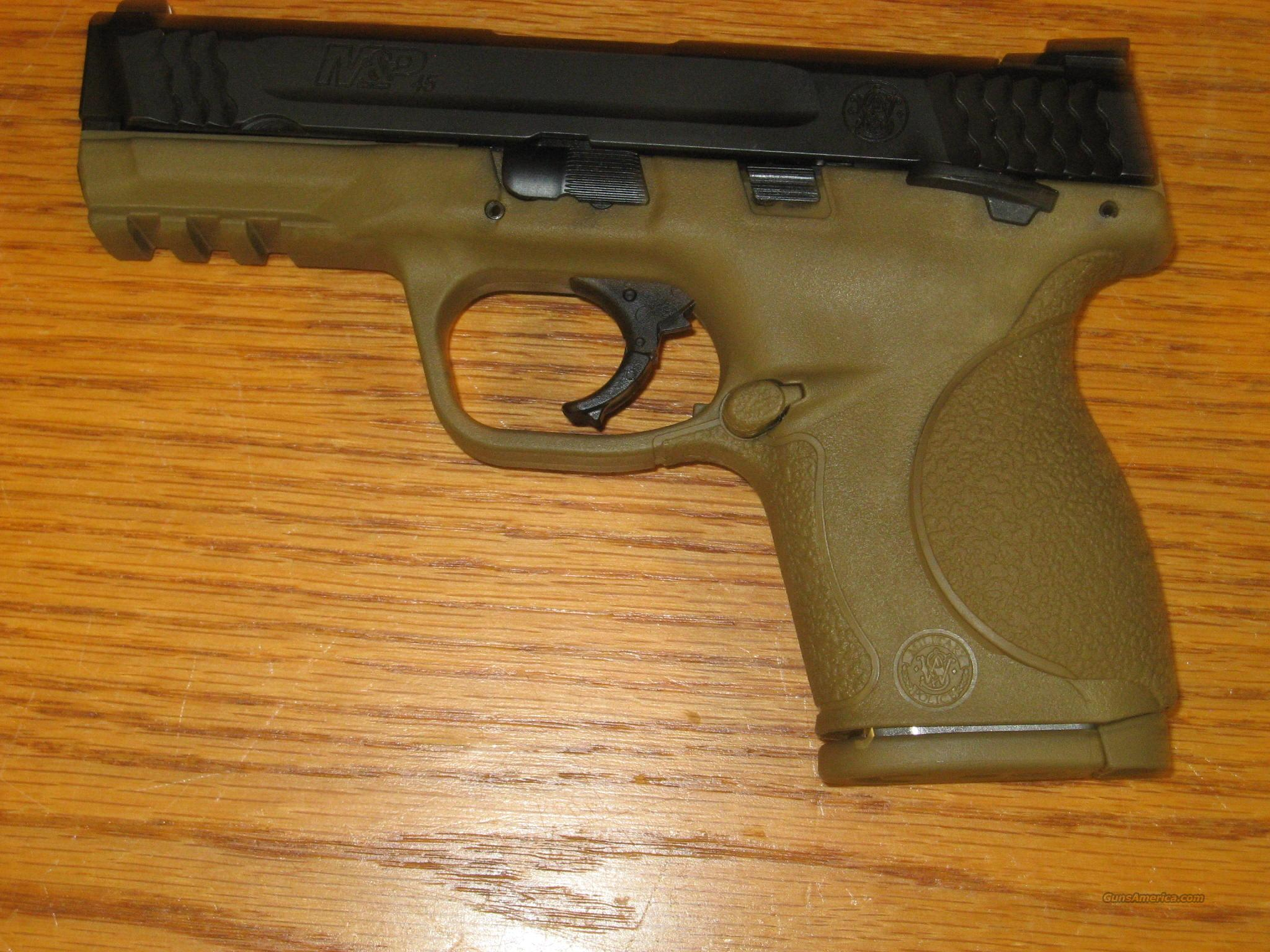 S&W M&P 45 compact  FDE   ANIB  Guns > Pistols > Smith & Wesson Pistols - Autos > Polymer Frame