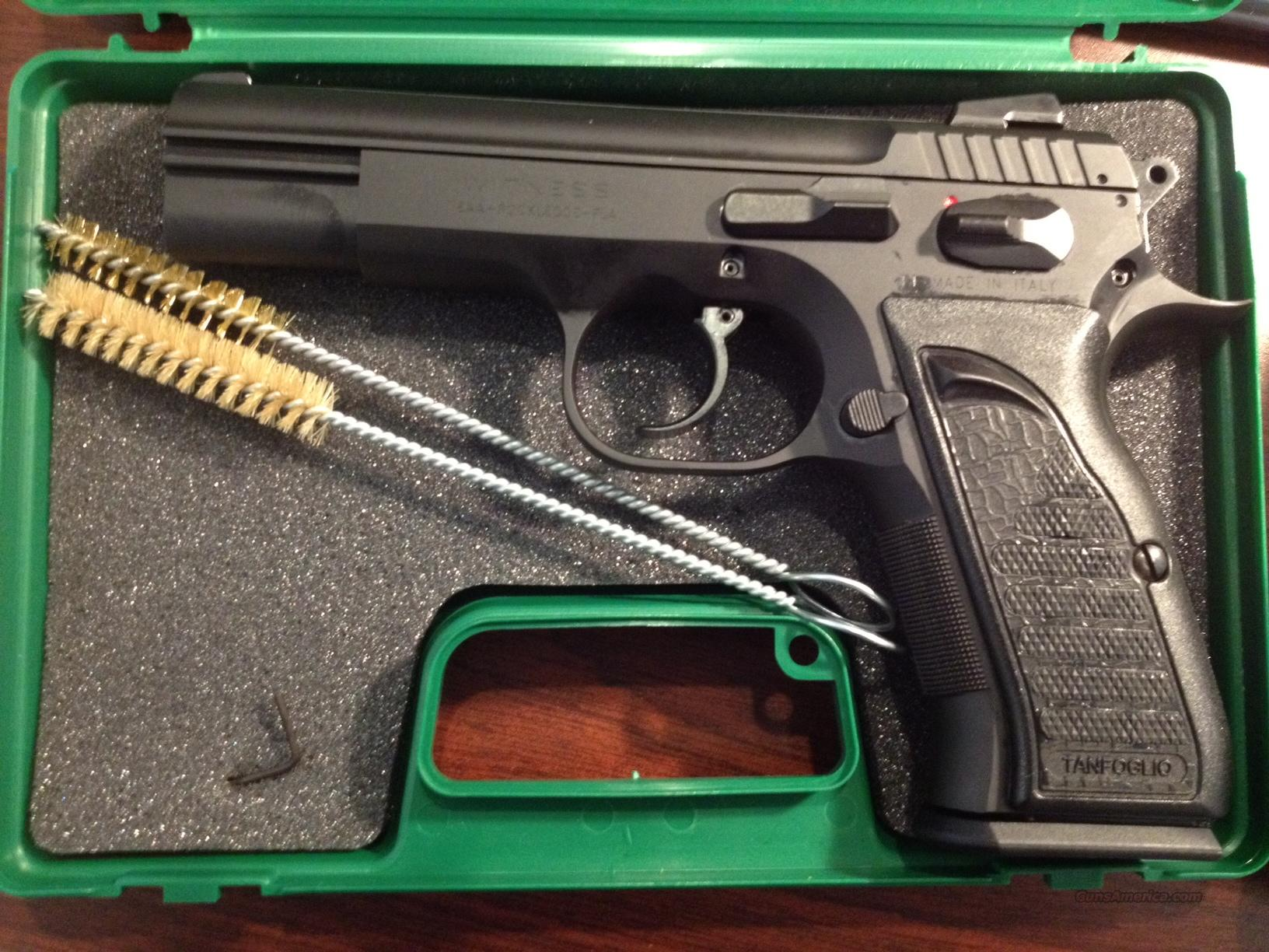 EAA TANFOGLIO  WITNESS .45ACP 10RD LIFETIME WARRANTY  Guns > Pistols > EAA Pistols > Other