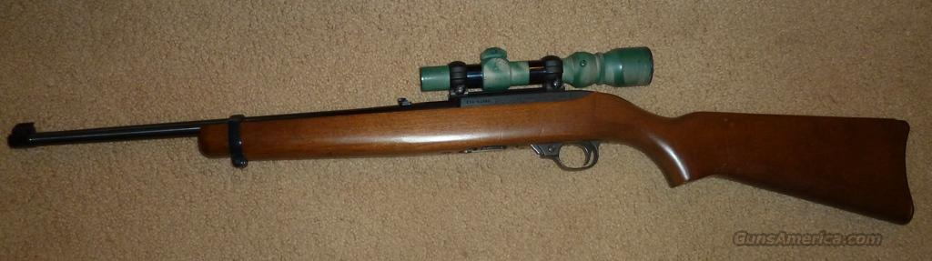 Ruger 10-22 with scope   Guns > Rifles > Ruger Rifles > 10-22