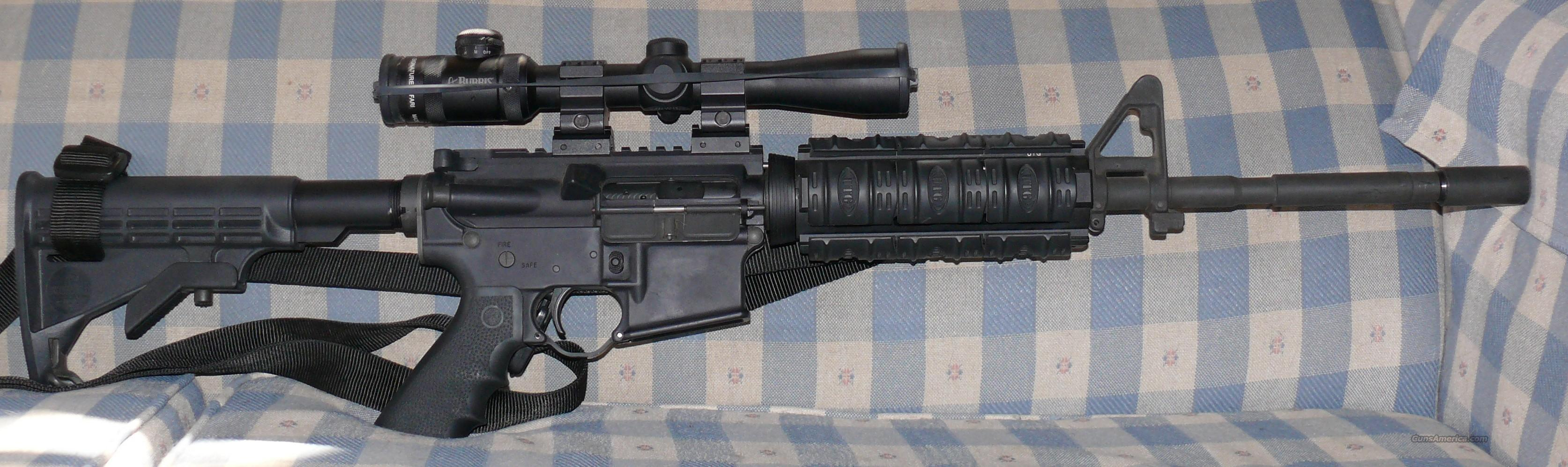 Great Deal on Bushmaster M4 Patrolman's Carbine  Guns > Rifles > Bushmaster Rifles > Complete Rifles