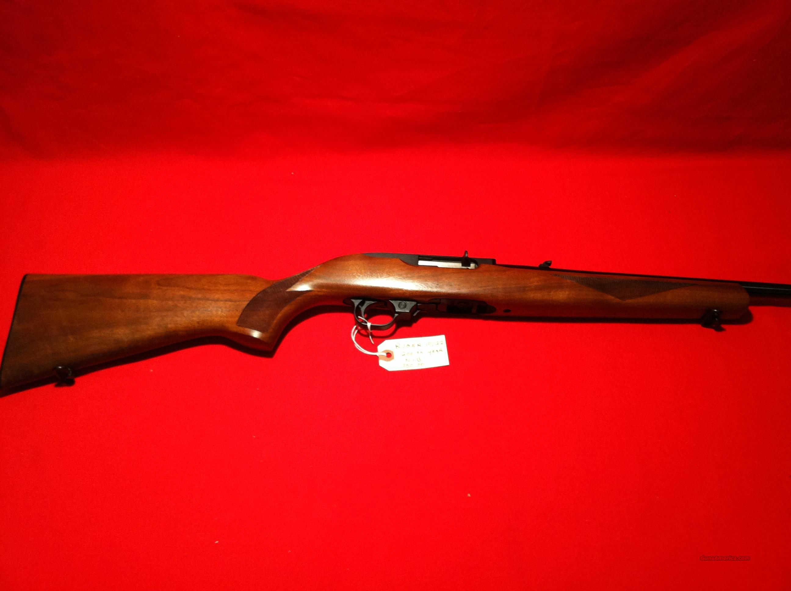 Ruger 10/22 Deluxe Carbine  Guns > Rifles > Ruger Rifles > 10-22