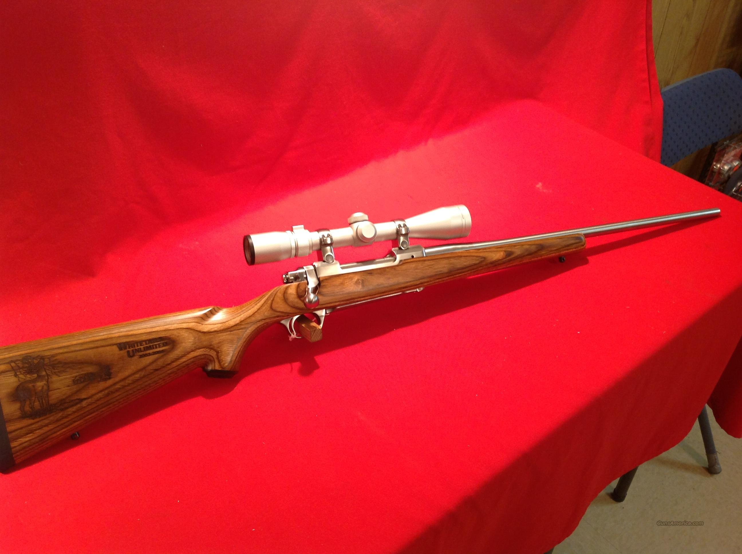 Ruger M77 MKII .270 SS Whitetails Unlimited Add.  Guns > Rifles > Ruger Rifles > Model 77