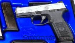 FNH FNS 40 MS 40S&W BLK/SS 3-14 ROUND MAGS  Guns > Pistols > FNH - Fabrique Nationale (FN) Pistols > High Power Type