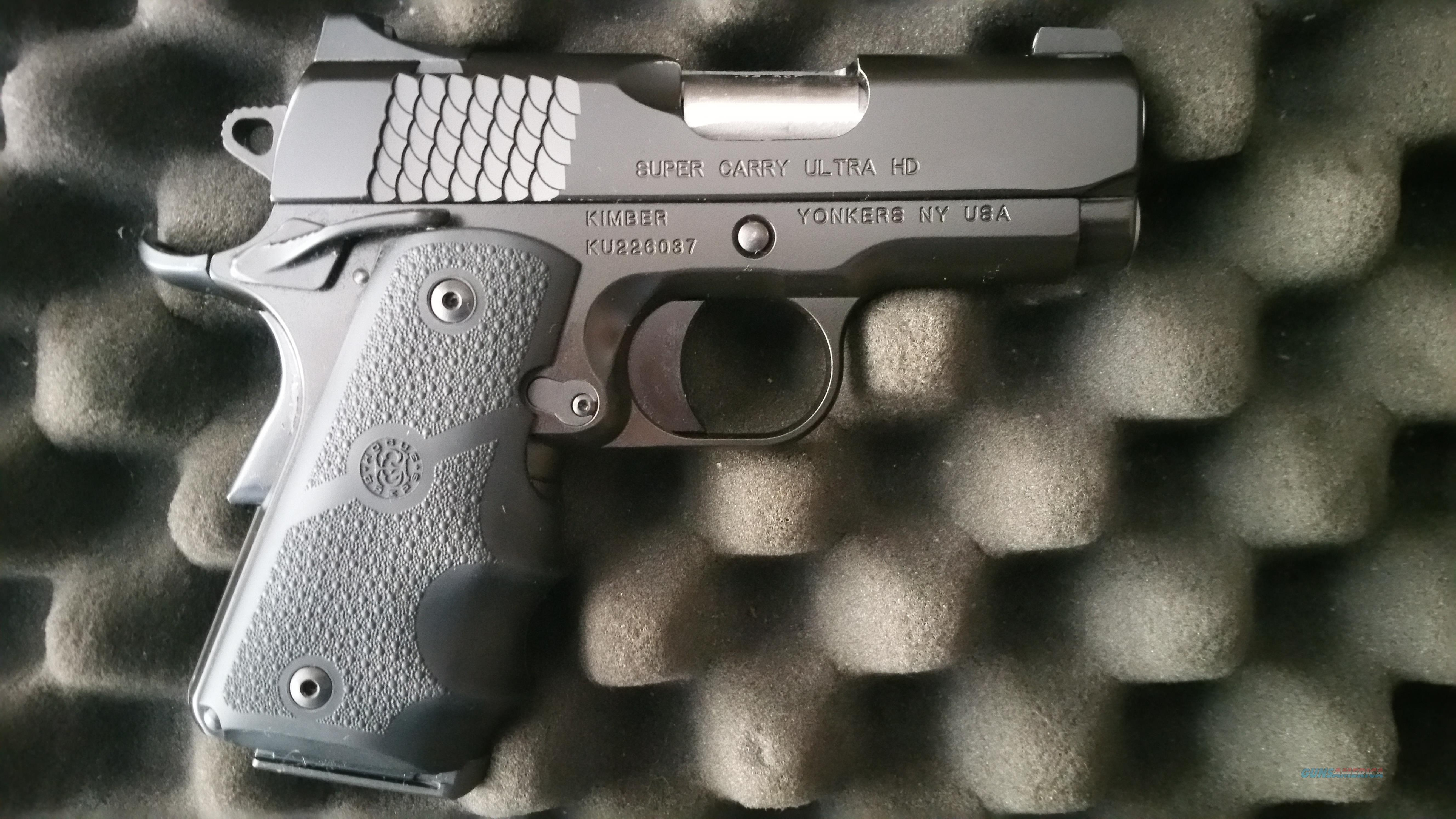 Kimber Super Carry Ultra HD (USED AS NEW)  Guns > Pistols > Kimber of America Pistols