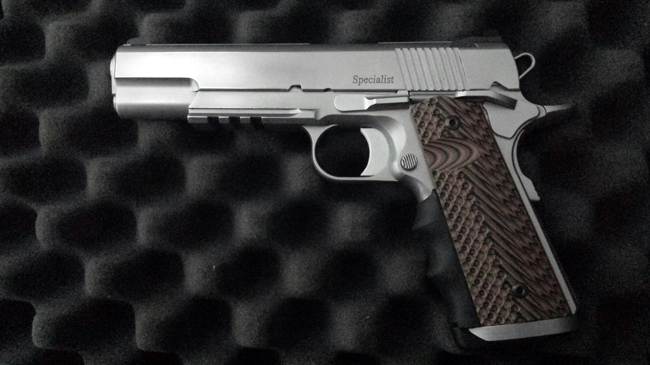 Dan Wesson Stainless Specialist  Guns > Pistols > Dan Wesson Pistols/Revolvers > 1911 Style