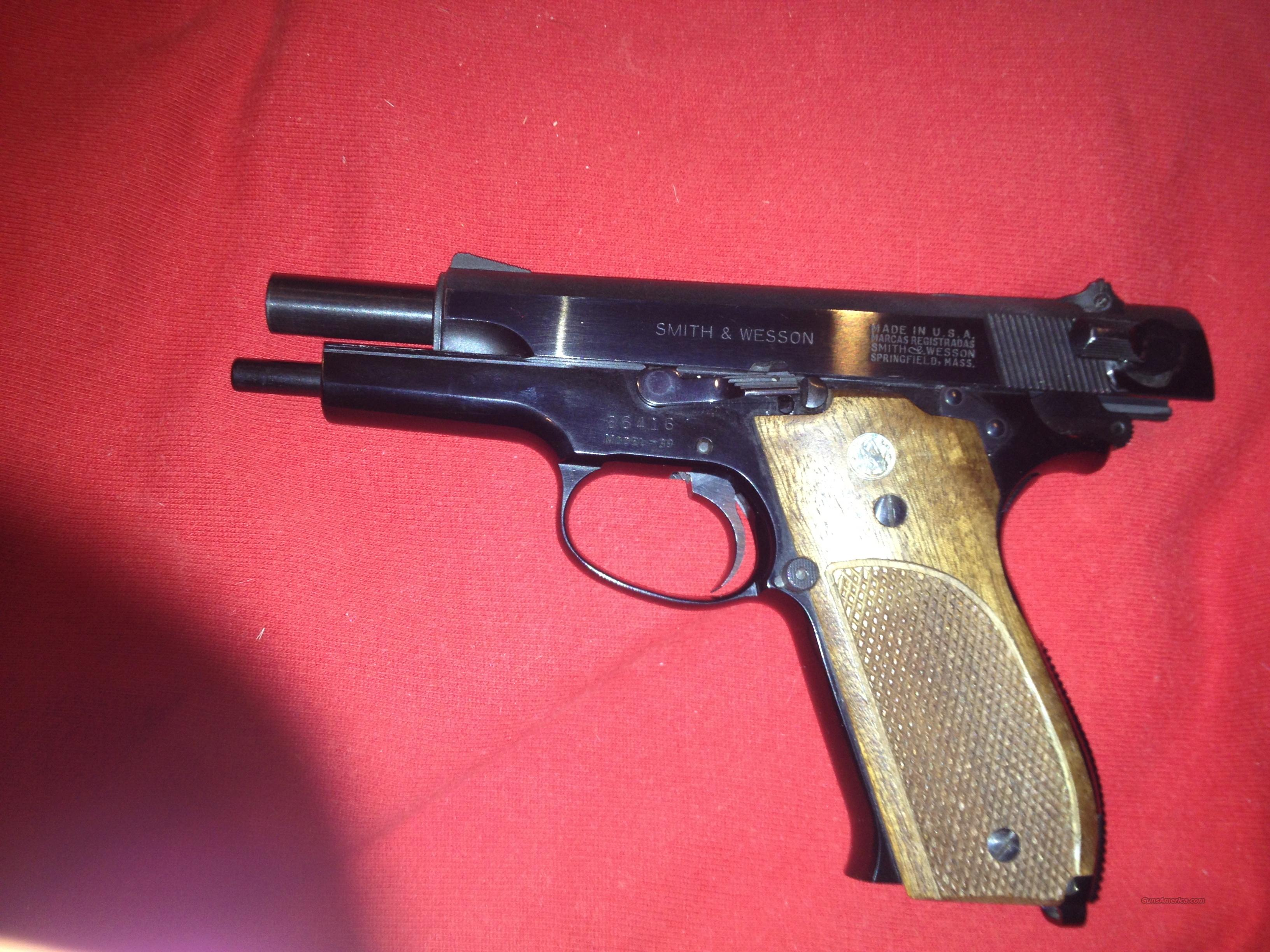 S&W  Model 39 9mm  Guns > Pistols > Smith & Wesson Pistols - Autos > Alloy Frame