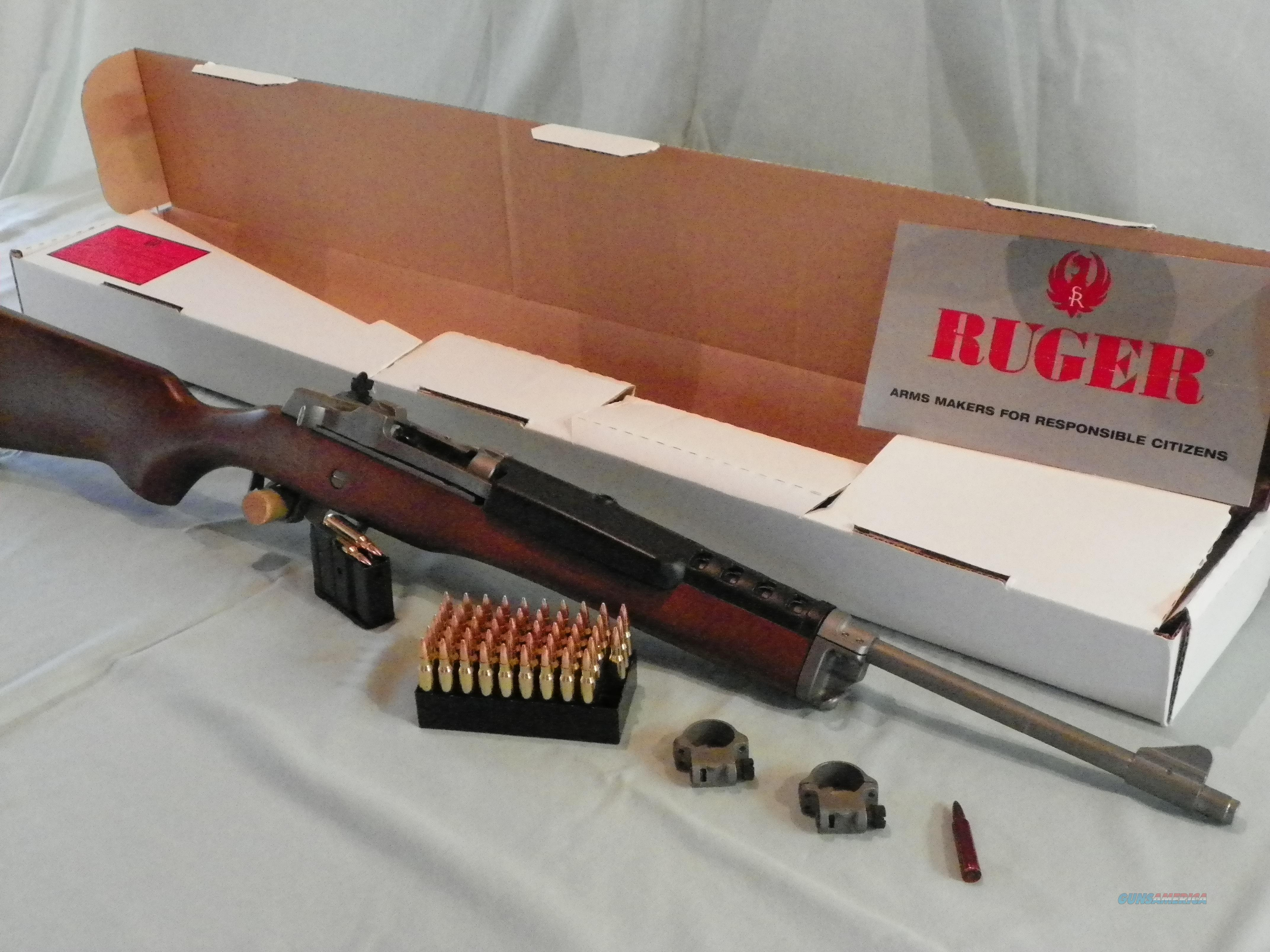 Stainless Ruger Mini 14  Guns > Rifles > Ruger Rifles > Mini-14 Type