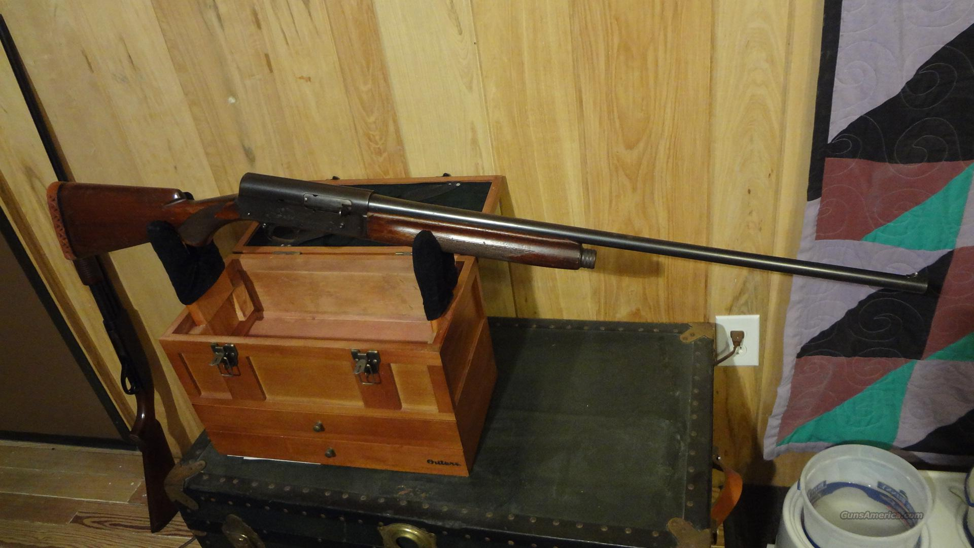 Remington model 11 20 gauge shotgun  Guns > Shotguns > Remington Shotguns  > Autoloaders > Hunting