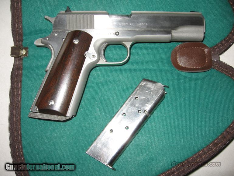 Rare 1911 Randall  45 Cal  Stainless Steel  Guns > Pistols > 1911 Pistol Copies (non-Colt)