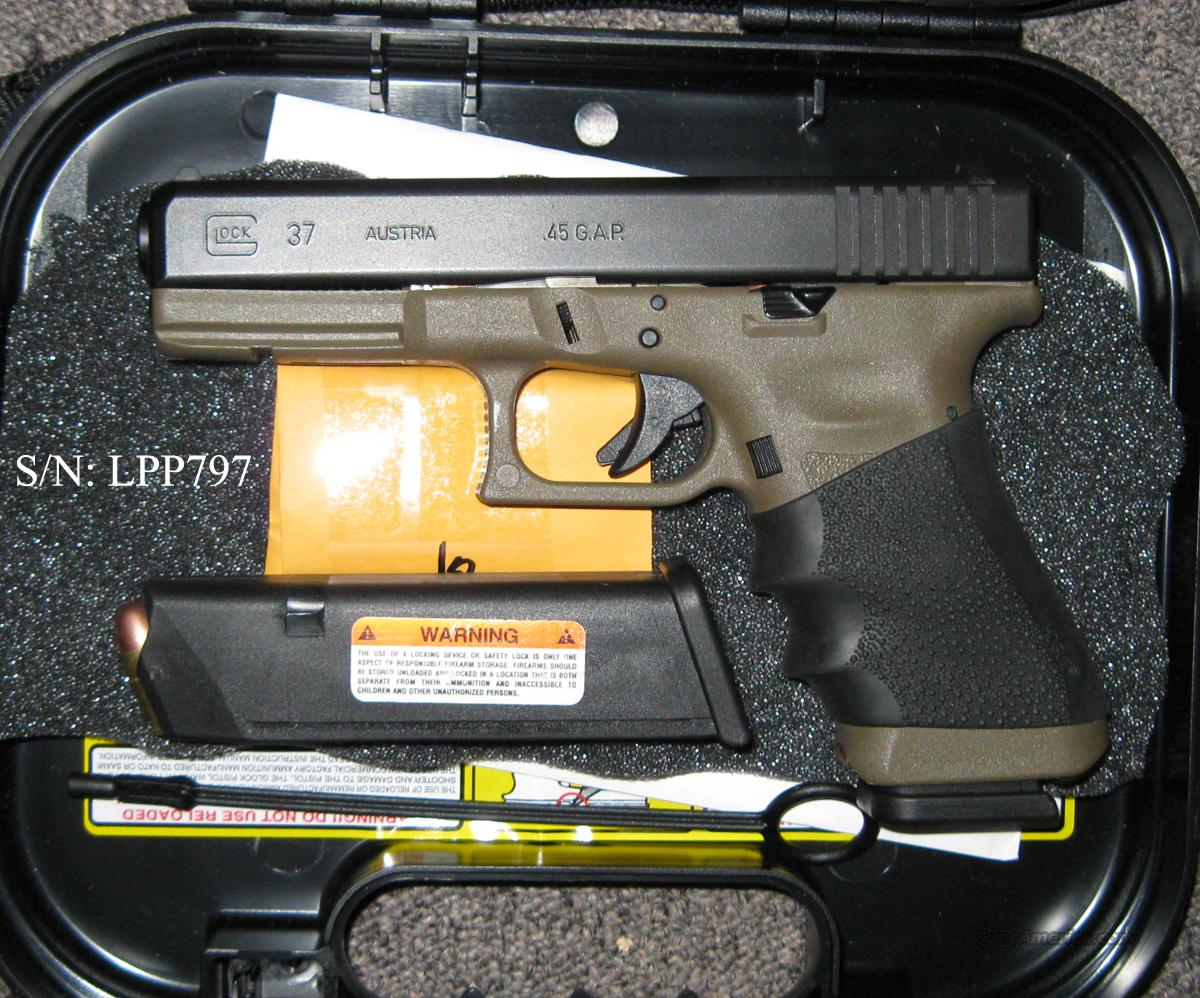 Glock 37 - Black over Desert Tan!  Guns > Pistols > Glock Pistols > 37