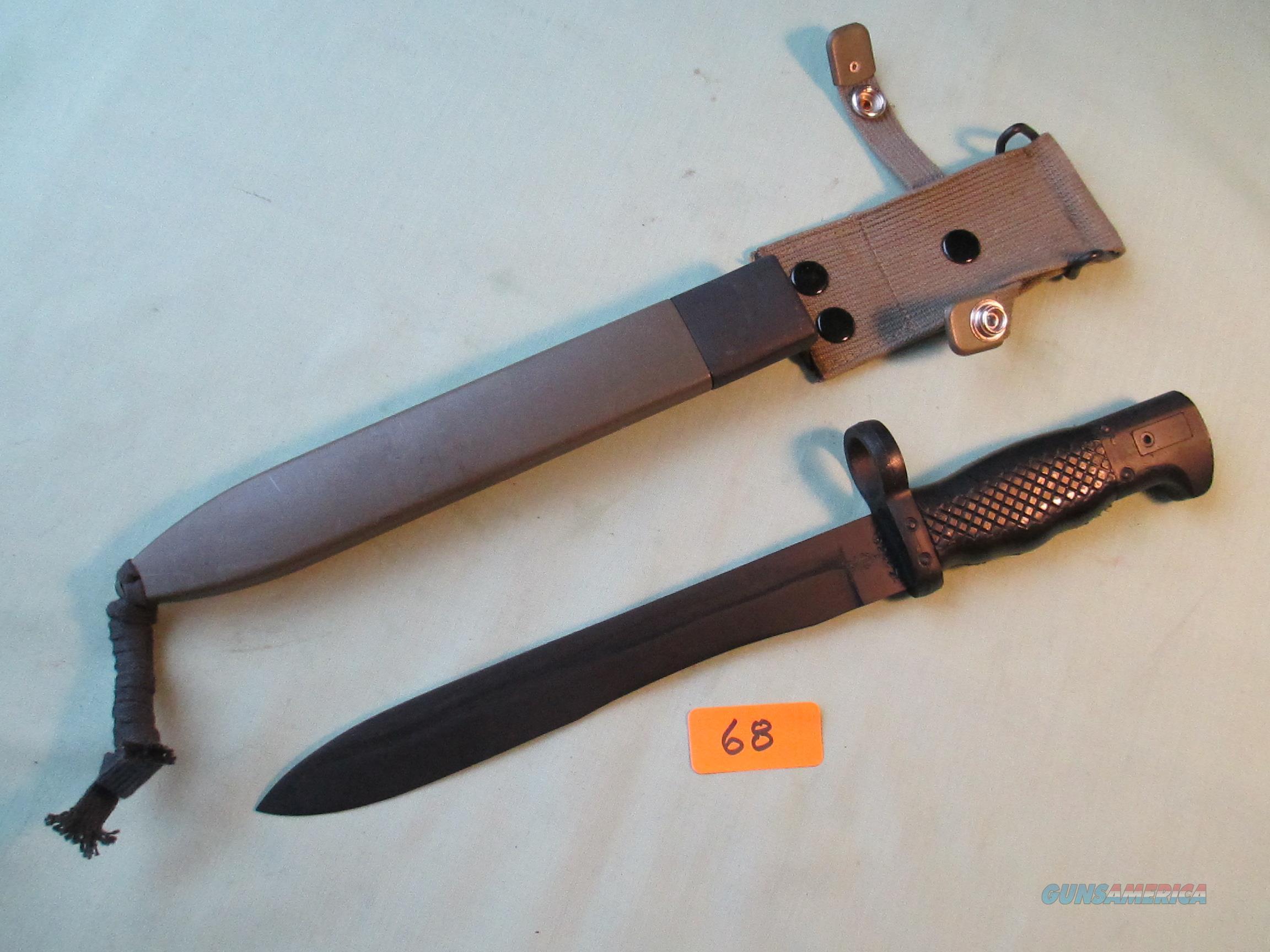 CETME SPANISH M1964 ....FR-7 FR-8  Non-Guns > Knives/Swords > Military > Bayonets
