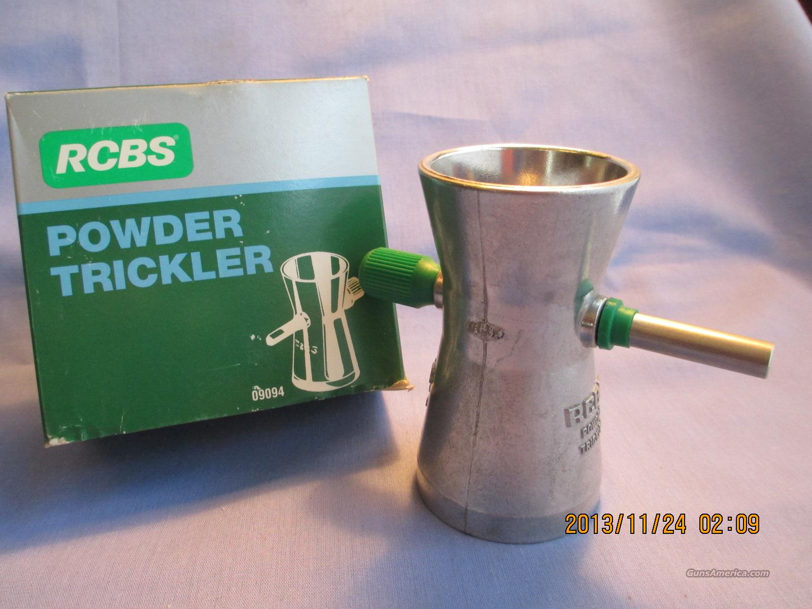 RCBS Powder Trickler   Non-Guns > Reloading > Equipment > Metallic > Presses
